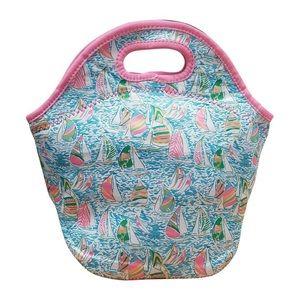 Handbags - Lilly Inspired Print Lunchbox